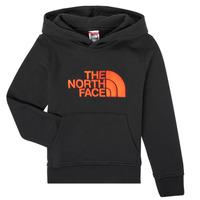 Kleidung Jungen Sweatshirts The North Face DREW PEAK HOODIE Schwarz