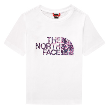 Kleidung Mädchen T-Shirts The North Face EASY BOY TEE Weiss