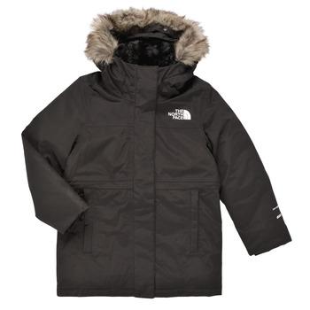 Kleidung Mädchen Parkas The North Face ARCTIC SWIRL PARKA Schwarz