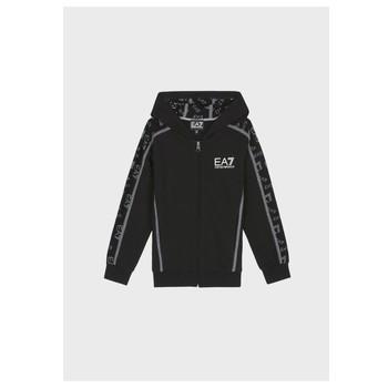 Kleidung Jungen Sweatshirts Emporio Armani EA7 MANTHA Schwarz