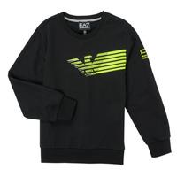 Kleidung Jungen Sweatshirts Emporio Armani EA7 SOLIR Schwarz
