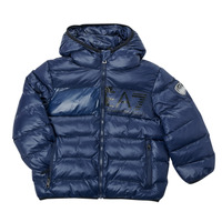Kleidung Jungen Daunenjacken Emporio Armani EA7 TREDA Marine