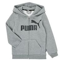 Kleidung Jungen Sweatshirts Puma ESSENTIAL BIG LOGO FZ HOODIE Grau