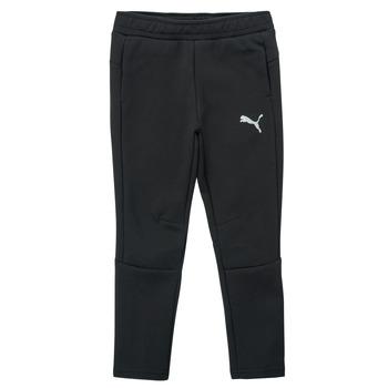 Kleidung Jungen Jogginghosen Puma EVOSTRIPE PANT Schwarz