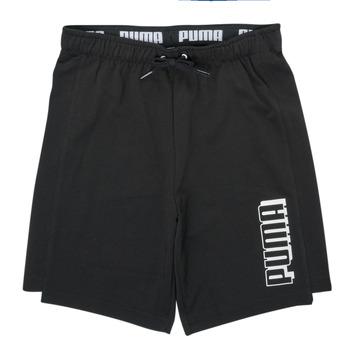 Kleidung Jungen Shorts / Bermudas Puma ALPHA SHORT Schwarz
