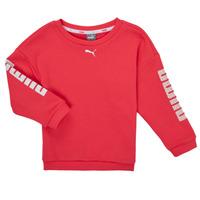 Kleidung Mädchen Sweatshirts Puma ALPHA CREW SWEAT Rose