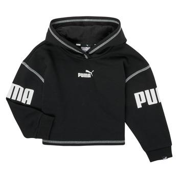 Kleidung Mädchen Sweatshirts Puma PUMA POWER HOODIE Schwarz