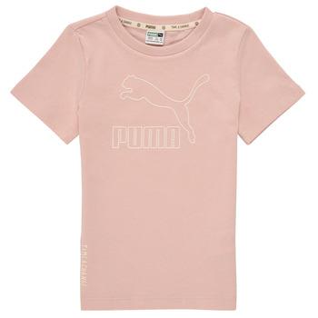 Kleidung Mädchen T-Shirts Puma T4C TEE Rose