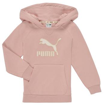 Kleidung Mädchen Sweatshirts Puma T4C HOODIE Rose