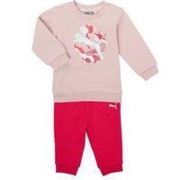 Kleidung Mädchen Kleider & Outfits Puma Minicats ALPHA Crew Jogger FL Rose