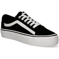 Schuhe Damen Sneaker Low Luna Collection 55259 schwarz