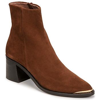 Schuhe Damen Low Boots Jonak DELO Braun