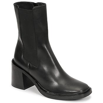 Schuhe Damen Low Boots Jonak DANUBE Schwarz