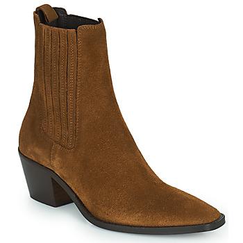 Schuhe Damen Low Boots Jonak BIRMAN Braun