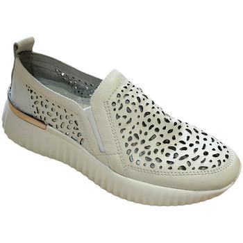 Schuhe Damen Slipper Susimoda SUSI4056bia bianco