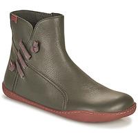 Schuhe Damen Boots Camper PEU CAMI Grau