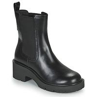 Schuhe Damen Boots Camper MILAH Schwarz