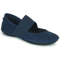Schuhe Damen Ballerinas Camper RIGHT NINA Blau