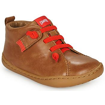 Schuhe Kinder Derby-Schuhe Camper PEU CAMI Braun