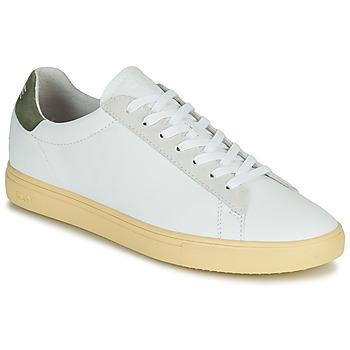 Schuhe Herren Sneaker Low Clae BRADLEY CALIFORNIA Weiss / Grün