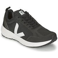 Schuhe Sneaker Low Veja CONDOR 2 Schwarz / Weiss