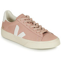 Schuhe Damen Sneaker Low Veja CAMPO Rose / Weiss