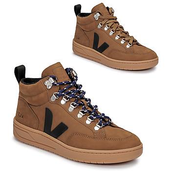 Schuhe Sneaker High Veja RORAIMA Camel / Schwarz