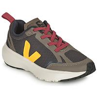 Schuhe Kinder Sneaker Low Veja SMALL CANARY Grün / Gelb