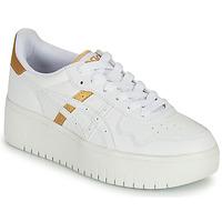Schuhe Damen Sneaker Low Asics JAPAN PLATFORM Weiss / Gold