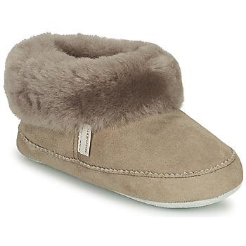 Schuhe Mädchen Hausschuhe Shepherd PITEA Grau