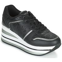 Schuhe Damen Sneaker Low Guess HEKTOR Schwarz
