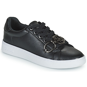 Schuhe Damen Sneaker Low Guess BABE Schwarz