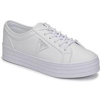 Schuhe Damen Sneaker Low Guess BHANIA Weiss