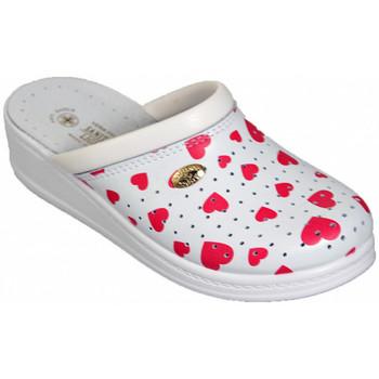 Schuhe Damen Pantoffel Sanital ART 4350 pantoletten hausschuhe Multicolor