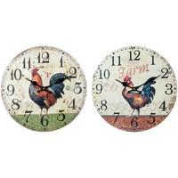 Home Uhren Signes Grimalt Wanduhr Im September Gallo 2U Multicolor