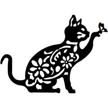 Home Gemälde, Leinwände Signes Grimalt Wandverzierung Katze Negro