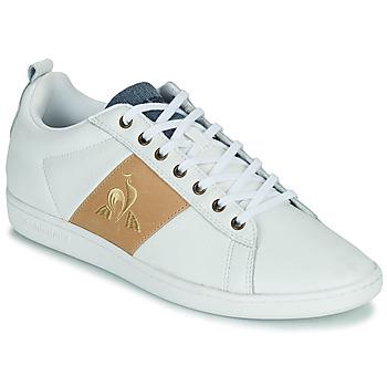 Schuhe Herren Sneaker Low Le Coq Sportif COURTCLASSIC Weiss