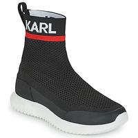 Schuhe Jungen Sneaker High Karl Lagerfeld PELINDRA Schwarz
