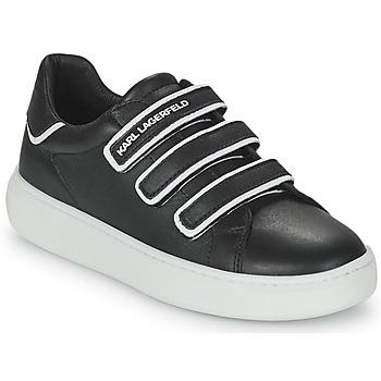 Schuhe Kinder Sneaker Low Karl Lagerfeld GOLINDA Schwarz