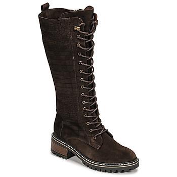 Schuhe Damen Klassische Stiefel Elue par nous KOFOUR Braun