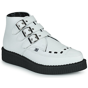 Schuhe Boots TUK POINTED CREEPER 3 BUCKLE BOOT Weiss