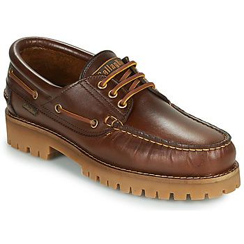Schuhe Herren Slipper CallagHan TIM CRO. Braun