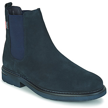 Schuhe Herren Boots CallagHan PURE CASUAL Blau
