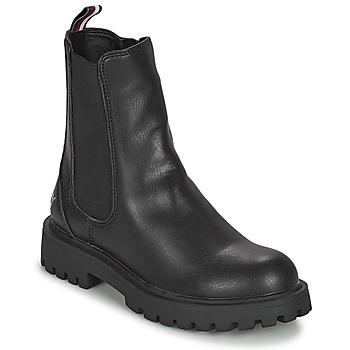 Schuhe Mädchen Boots Tommy Hilfiger T3A5-31198-0289999 Schwarz