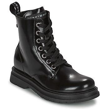 Schuhe Mädchen Boots Tommy Hilfiger T4A5-32009-0776999 Marine