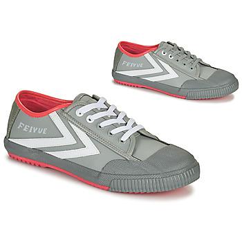 Schuhe Herren Sneaker Low Feiyue STAPLE X FE LO 1920 Grau / Weiss