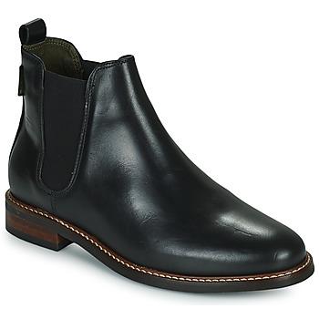 Schuhe Damen Boots Barbour FOXTON Schwarz