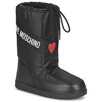Schuhe Damen Schneestiefel Love Moschino JA24032G1D Schwarz