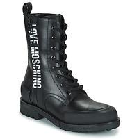 Schuhe Damen Boots Love Moschino JA24184G1D Schwarz