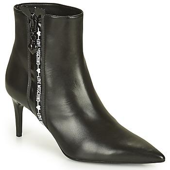Schuhe Damen Low Boots Love Moschino JA21107G1D Schwarz